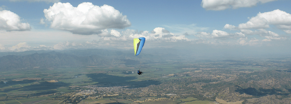 Paragliding XC Action Air Sports Colombia